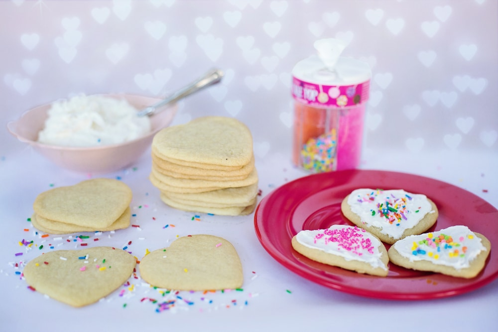 cookie decorating for a cheap party
