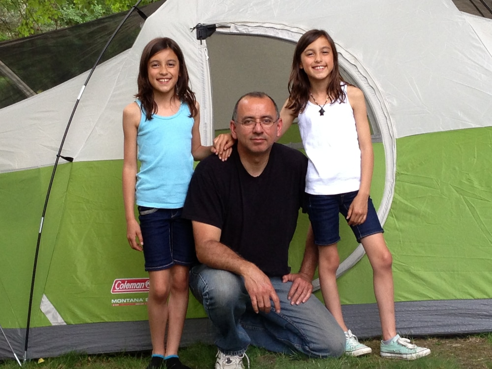 stress free camping with kids