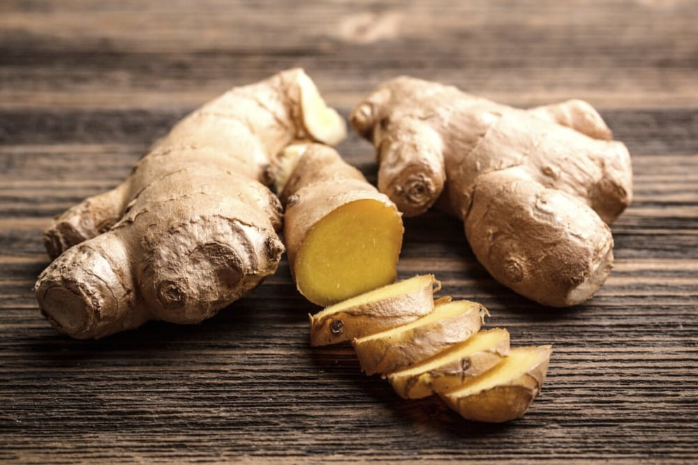 best foods for cutting weight ginger
