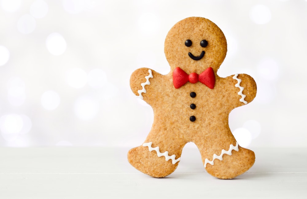 ground ginger good for you gingerbread man